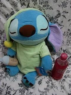 Stitch sleeping